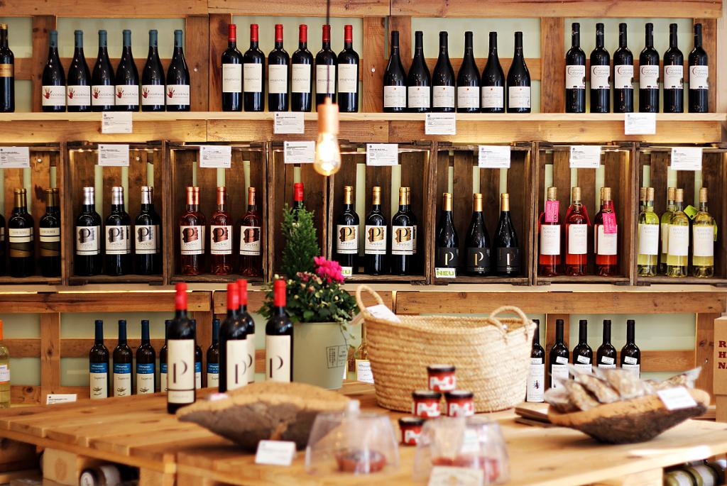 Weinsortiment – Foto: Sonja Lukenda